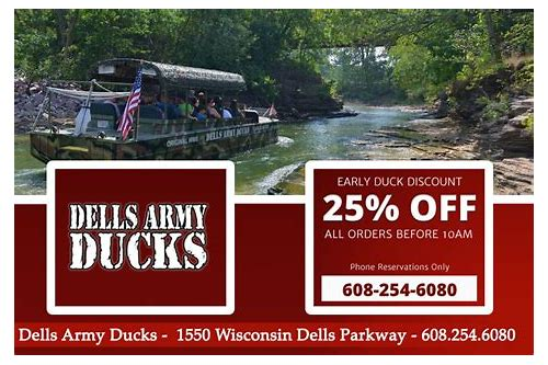 wisconsin dells duck tour coupons