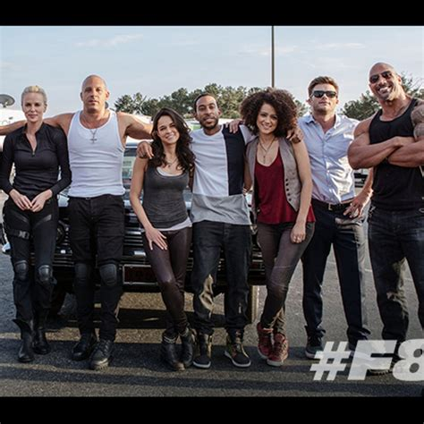 fast and furious 8 cast photo fast furious 8 famille