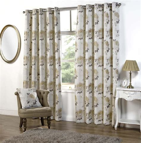 clara curtains clara eyelet curtains in linen free uk delivery terrys