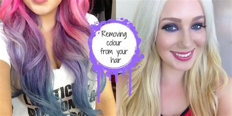 what to dye your hairwhenits black how to remove fashion colour from your hair manic panic