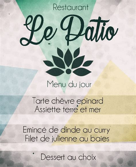 le patio rodez resto le patio rodez home rodez menu prices