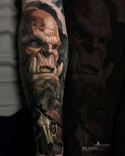 world of warcraft tattoo orc best tattoo ideas gallery