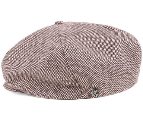 Brixton Ollie Cap Brown 1 ollie brown flat cap brixton caps hatstore co uk