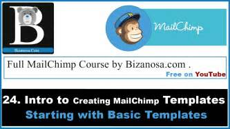 creating mailchimp templates 24 mailchimp templates creating basic templates