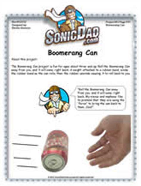 Boomerang Can Sonicdad Micro Boomerang Template