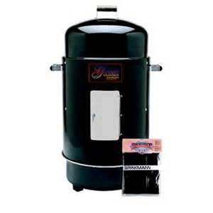 brinkmann gourmet charcoal smoker grill w cover black ebay