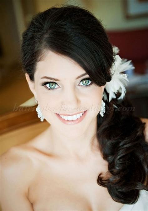Wedding Hair Updos Side Ponytail by Best 20 Side Ponytail Wedding Ideas On