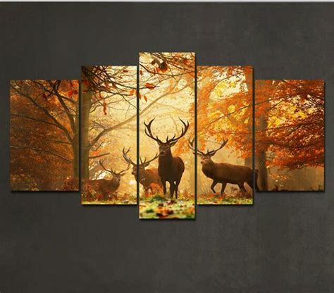 cheap modern wall decor wall designs discount wall 5 deer pattern