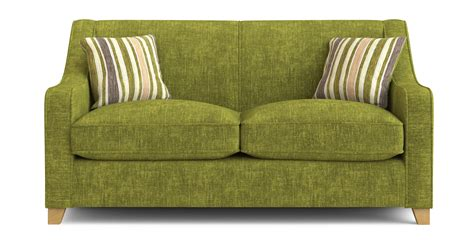 dfs 2 seater sofa bed dfs rachel lime green fabric 2 seater sofa bed ebay
