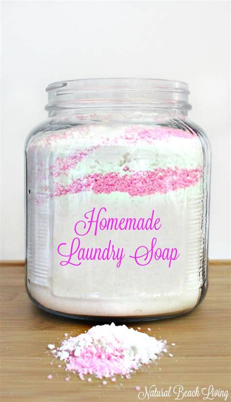Handmade Laundry Soap - the best laundry soap living