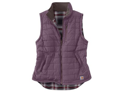Quilted Vest Womens by Carhartt S Amoret Reversible Quilted Vest
