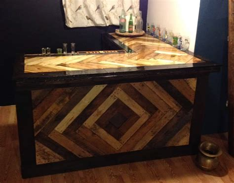 Bar Plans by 15 Epic Pallet Bar Ideas To Transform Your Space The Saw