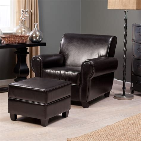 cheap chair and ottoman set chairs stunning leather chairs with ottoman lane leather