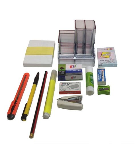 Yes Mini Desk Organizer Set Buy Online At Best Price In Desk Organizer Sets