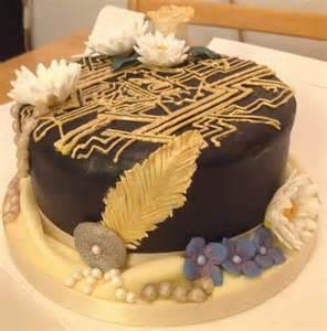 tolle kuchen great gatsby cake