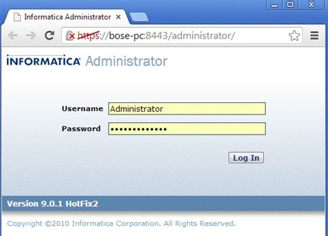 Informatica Administrator by Windows 64bit Informatica 9 0 1 Server Complete