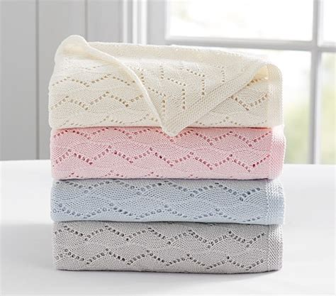 Apply For Pottery Barn Credit Card Trellis Knitted Baby Blanket Pottery Barn Kids