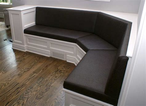 banquette cushion custom upholstery banquettes to comfortably enhance home