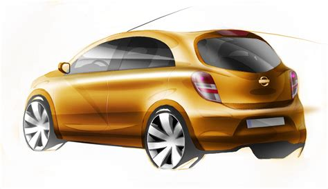 nissan small car nissan global compact car first sketches revealed
