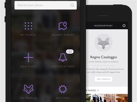 menu design mobile app mobile app design by regina casaleggio dribbble
