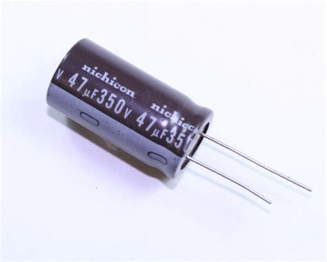 47uf 350v axial capacitor upr2v470mrh nichicon capacitor 47uf 350v aluminum electrolytic radial high temp 2020063905
