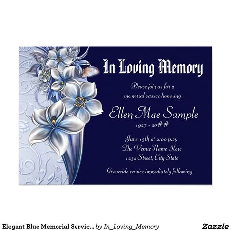 memorial cards for funeral template free business template