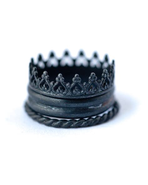 Handmade Stackable Rings - stackable ring set oxidized silver lovegem studio