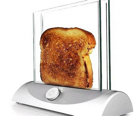 Toaster Glass 7 clear glass toaster 7 unique kitchen gadgets every has got