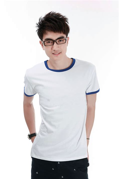 kaos polos katun pria o neck size xl 86202 t shirt