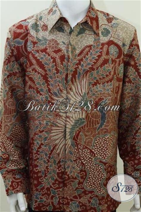 Baju Batik Lelaki Eksklusif baju batik sutera lelaki modern ready made siap pakai mewah elegan exclusive kualitas bagus