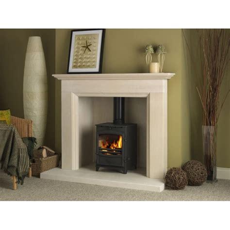 Fireline Fireplaces fireline aylesbury limestone fireplace and stove