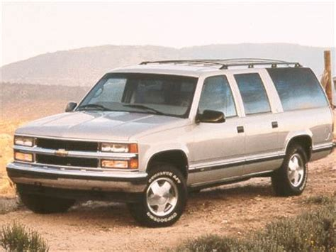 1998 chevrolet suburban 1500 pricing ratings reviews kelley blue book
