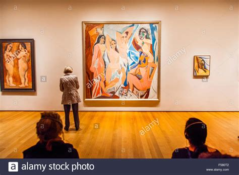picasso paintings in nyc pablo picasso painting quot les demoiselles d avignon quot at the