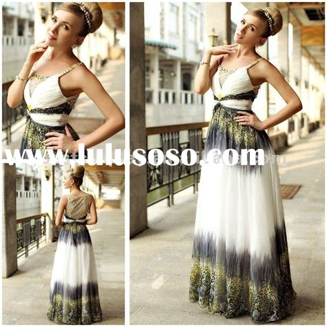 High Quality Silk Korea Import Tmc176 Purple Import woven purple and yellow chiffon s evening dress for sale price china
