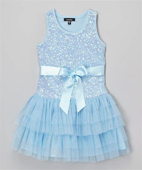 light blue toddler dress zunie light blue sequin dress toddler