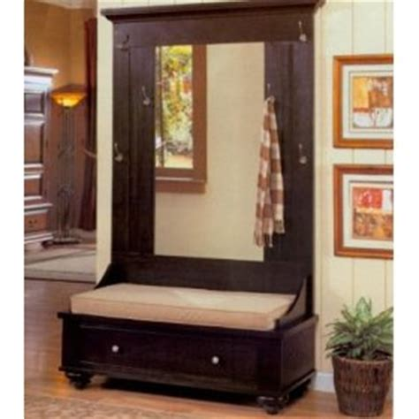 black hall tree storage bench black hall tree with bench storage betterimprovement com