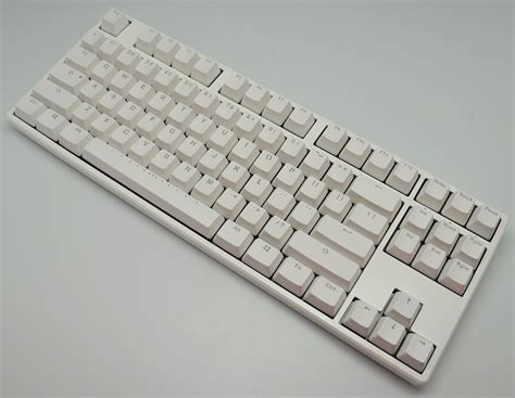 Ducky One Tkl Dkon1687 Mechanical Keyboard Cherry Mx Brown ducky one all white tkl mechanical keyboard