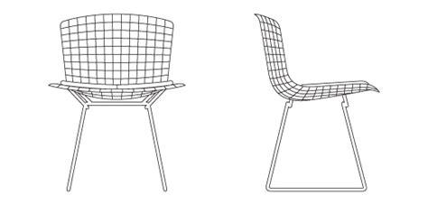 bertoia side chair knoll