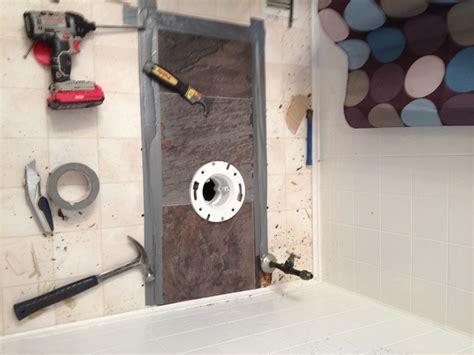 bathroom subfloor repair bathroom toilet subfloor repair new glueless flooring