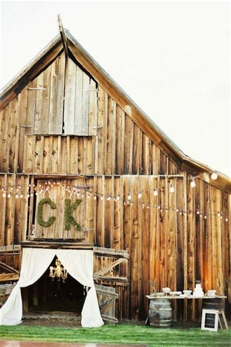 Barns Monograms And Barn Doors On Pinterest Barn Doors And More