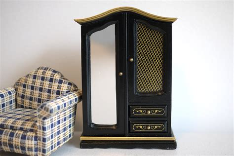 Dollhouse Furniture Clearance by Clearance Sale Dollhouse Furniture Wood Closet Cabinet With