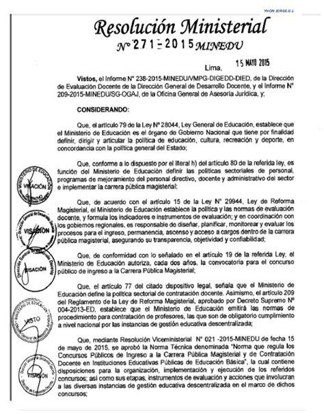 nombramiento de docente 2016 tecnicas del concurso de nombramiento 2015 y contrato