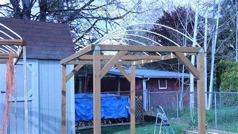 how to make awnings how to build a trellis system for vertical growing moms