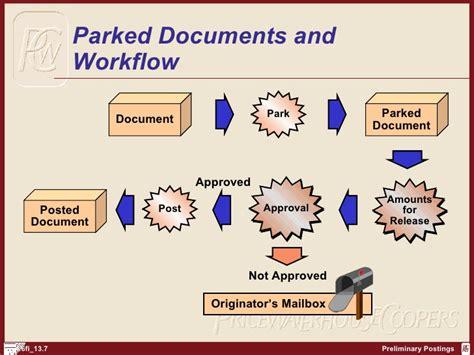 workflow documents sap fi preliminary postings http sapdocs info