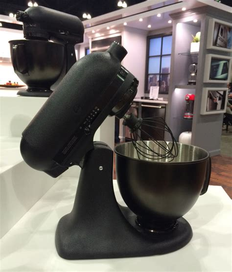 all black kitchenaid mixer favorites from dwell on design 2015 design milk