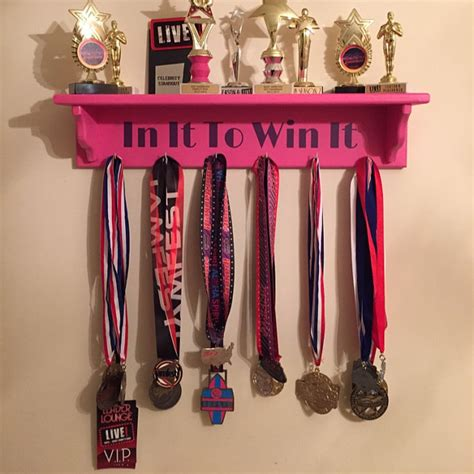 Handmade Medals - handmade wooden medal holder and trophy rack shelfin it to
