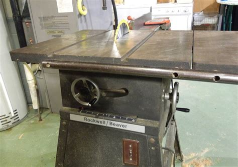 repairing an rockwell beaver table saw