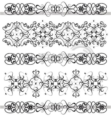 cenefas vectorizadas varios cenefas ilustraci 243 n vectorial de stock cliparto