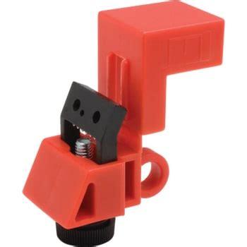 brady universal single pole circuit breaker lockout device