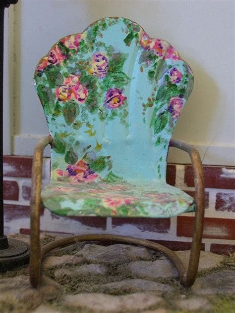 painting metal chairs paint a chair expressions